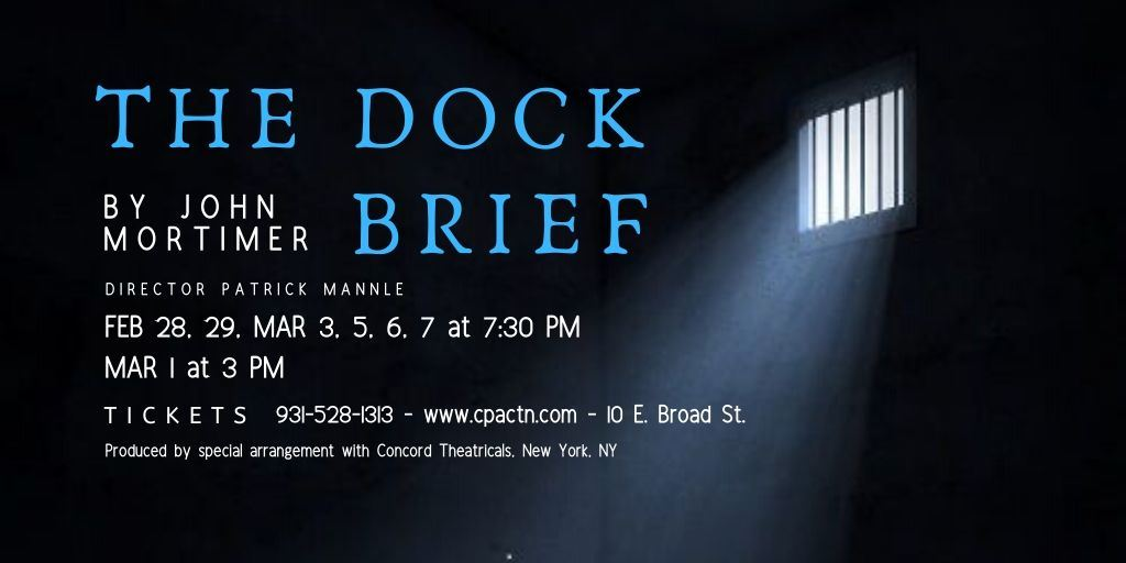 The Dock Brief smaller poster design by amy